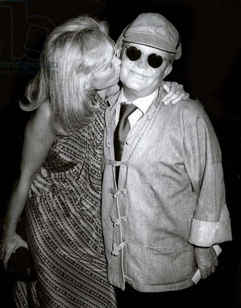 Truman Capote at Studio 54, 1978 (photo)