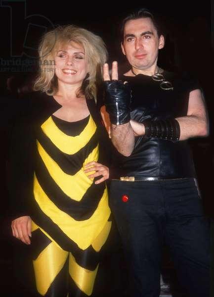 Debbie Harry Chris Stein, 1980s (photo)