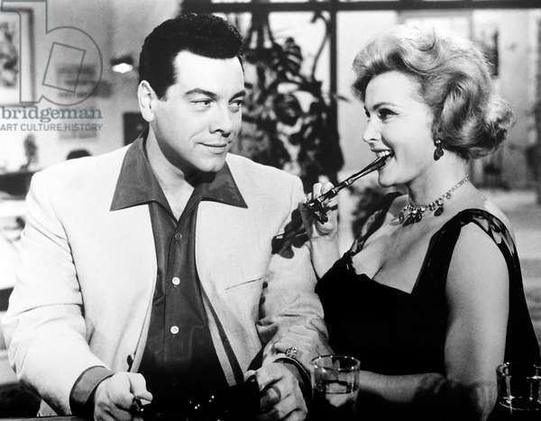 FOR THE FIRST TIME, from left, Mario Lanza, Zsa Zsa Gabor, 1959