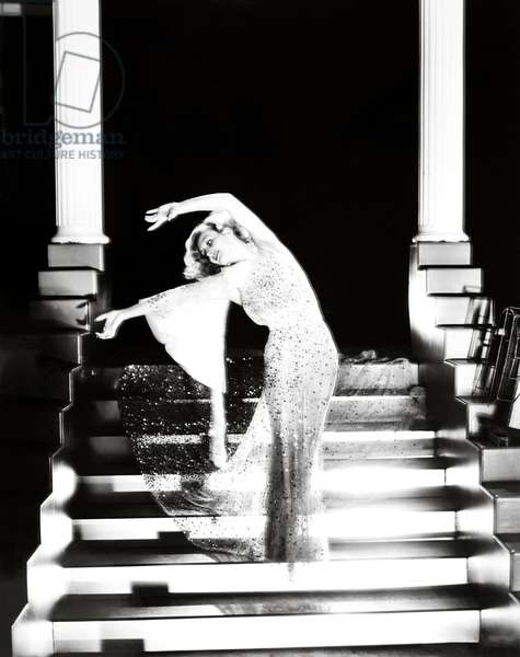 DANCING LADY, Joan Crawford, in a costume by Adrian, 1933