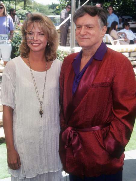 Faith Ford Hugh Hefner, 1992 (photo)