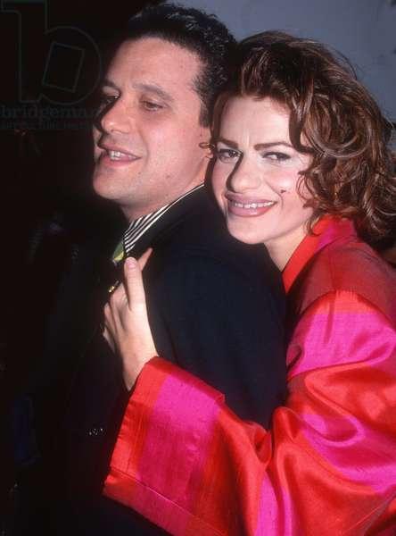 Isaac Mizrahi Sandra Berhardt, 1992 (photo)