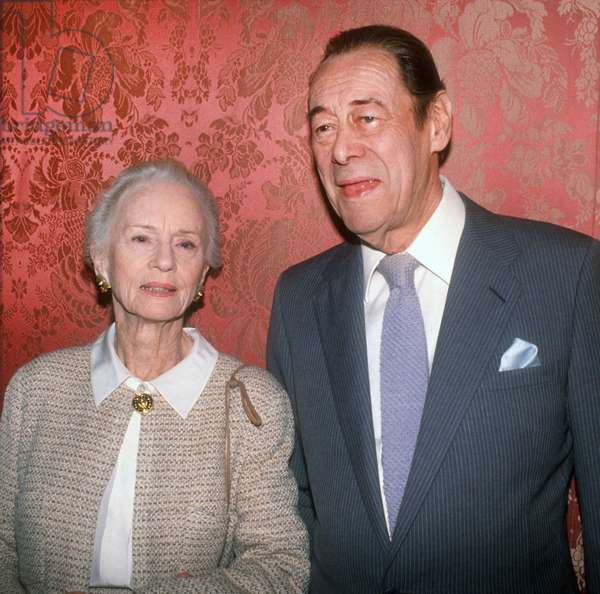 Jessica Tandy and Rex Harrison, 1992 (photo)