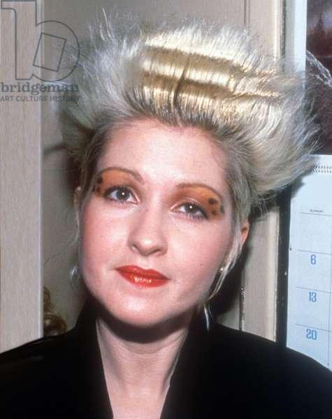 Cyndi Lauper, 1988 (photo)