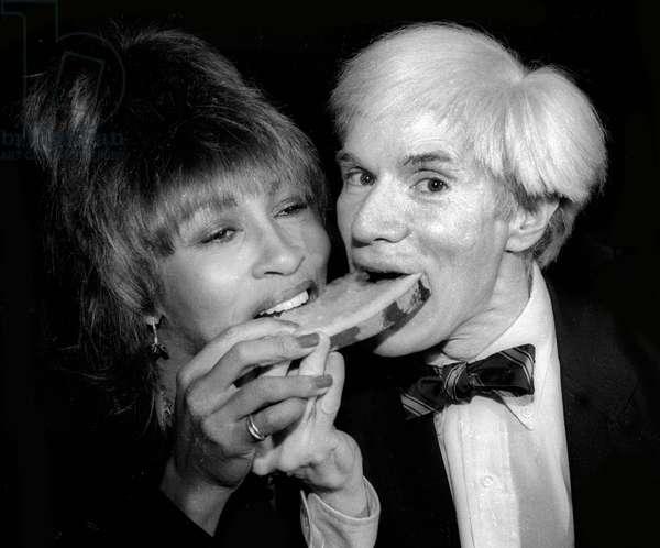 Tina Turner Andy Warhol, 1980 (photo)