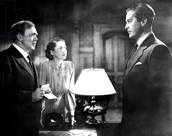 ALIAS NICK BEAL, from left, Thomas Mitchell, Geraldine Wall, Ray Milland, 1949