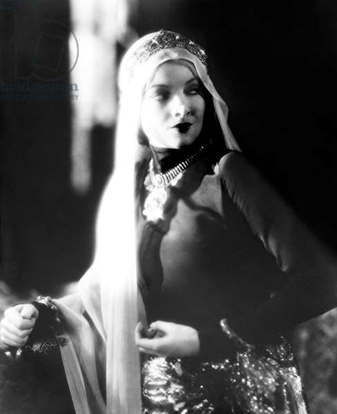 THE BLACK WATCH, Myrna Loy, 1929