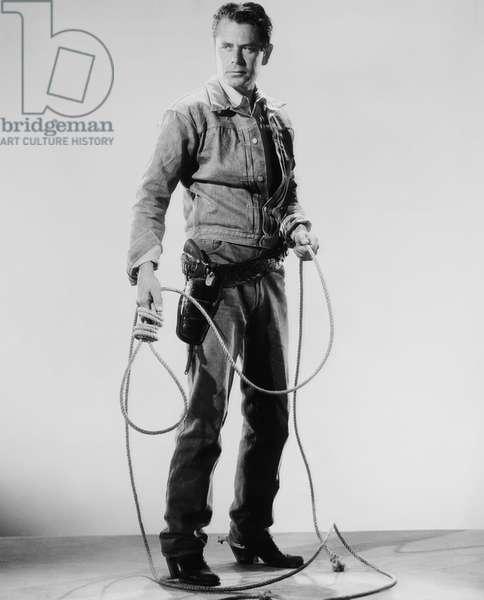 THE AMERICANO, Glenn Ford, 1955