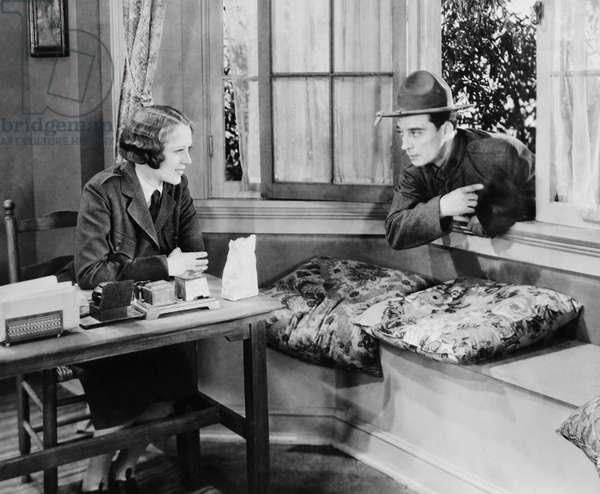 DOUGHBOYS, from left: Sally Eilers, Buster Keaton, 1930