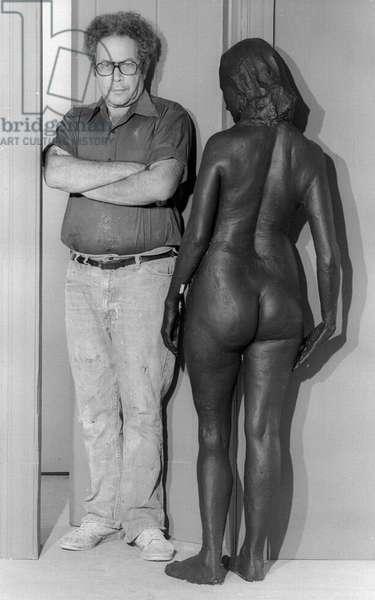 Artist George Segal, 1979 (photo)
