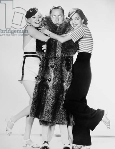COLLEGIATE, from left: Betty Grable, Joe Penner, Frances Langford, 1936