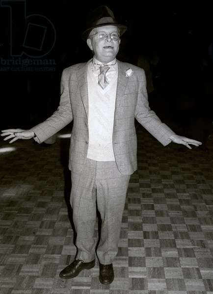 Truman Capote at Studio54, 1978 (photo)