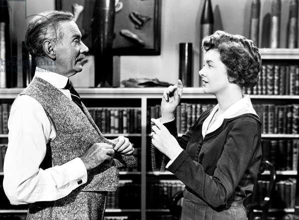 CHEAPER BY THE DOZEN, from left, Clifton Webb, Myrna Loy, 1950