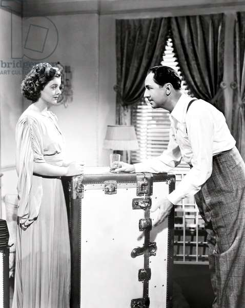 ANOTHER THIN MAN, from left, Myrna Loy, William Powell, 1939