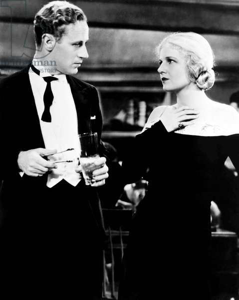 THE ANIMAL KINGDOM, from left, Leslie Howard, Ann Harding, 1932