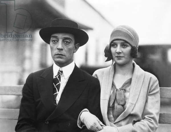 THE CAMERAMAN, from left: Buster Keaton, Marceline Day, 1928