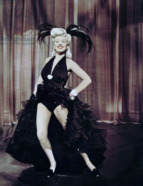 PIN UP GIRL, Betty Grable, 1944