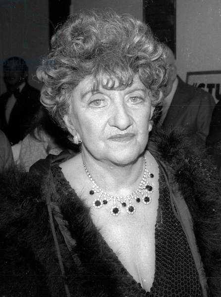 Hermione Gingold, undated (photo)