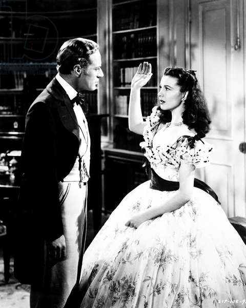 GONE WITH THE WIND, from left, Leslie Howard, Vivien Leigh, 1939
