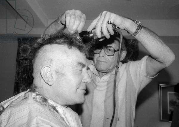 Albert FInney, 1981 (photo)