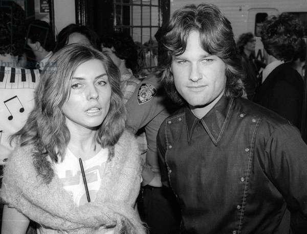 Debbie Harry Kurt Russell, 1981 (photo)
