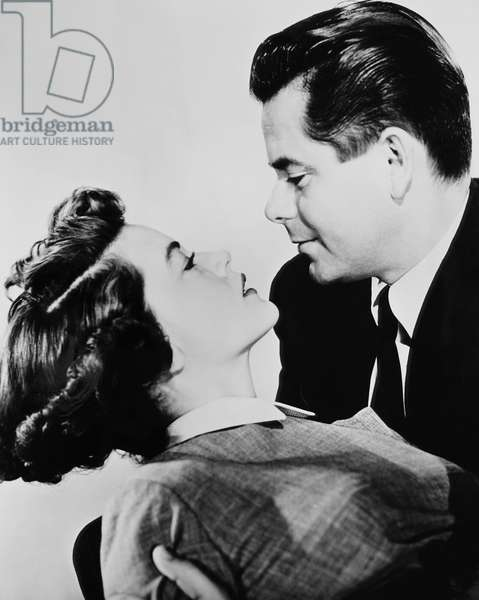 CONVICTED, from left: Dorothy Malone, Glenn Ford, 1950