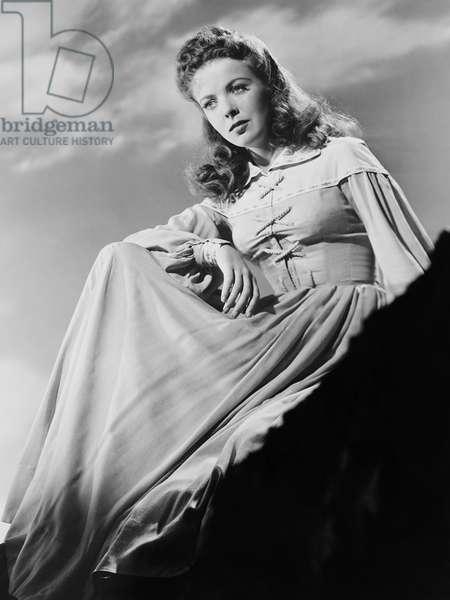 DEVOTION, Ida Lupino as Emily Bronte, 1946