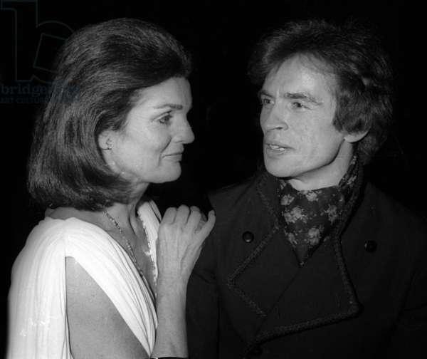 Jackie Kennedy Rudolph Nureyev, 1978 (photo)
