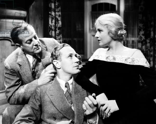 THE ANIMAL KINGDOM, from left, William Gargan, Leslie Howard, Ann Harding, 1932