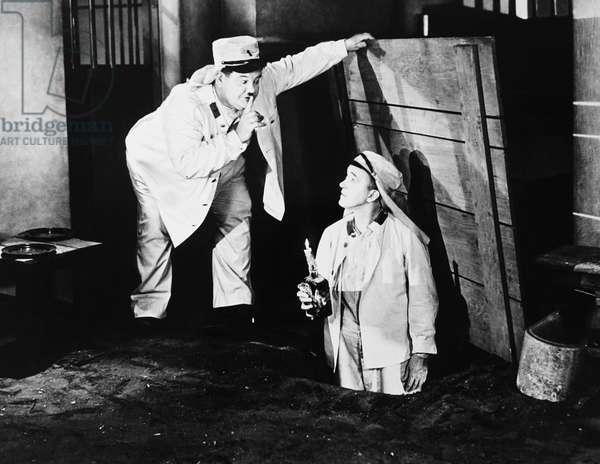 THE FLYING DEUCES, from left: Oliver Hardy, Stan Laurel, 1939