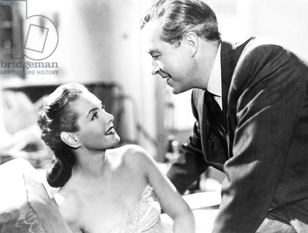 CIRCLE OF DANGER, from left, Patricia Roc, Ray Milland, 1951