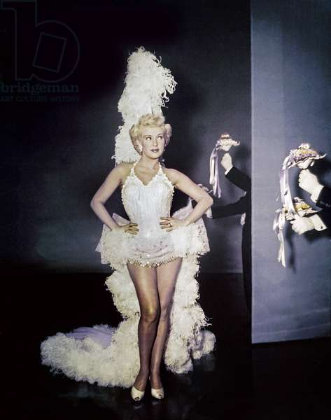 THREE FOR THE SHOW, Betty Grable, 1955