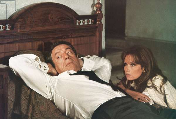 LE FILS, from left: Yves Montand, Lea Massari, 1973