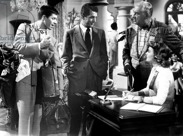 THE CADDY, from left, Jerry Lewis, Dean Martin, Joseph Calleia, Donna Reed, 1953