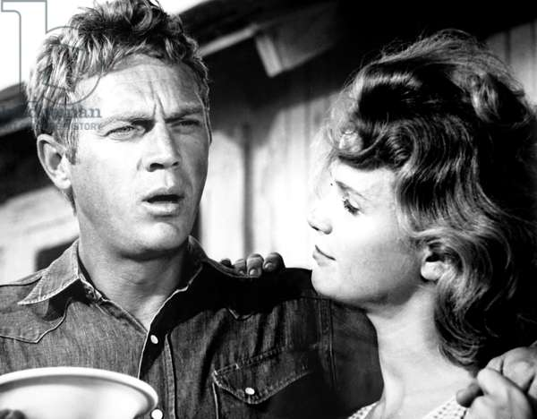 BABY THE RAIN MUST FALL, from left, Steve McQueen, Lee Remick, 1965