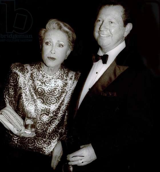 Jane Powell and Donald OConnor, 1980 (photo)