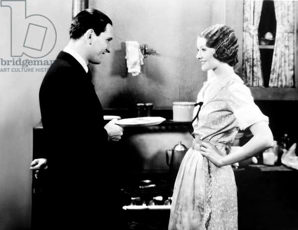 COCK O' THE WALK, from left, Joseph Schildkraut, Myrna Loy, 1930