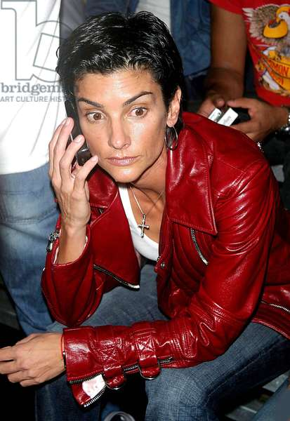 Ingrid Casares, 2003 Mercedes-Benz Fashion Week- Marc Jacobs, 2004 Spring Collection. New York City (photo)