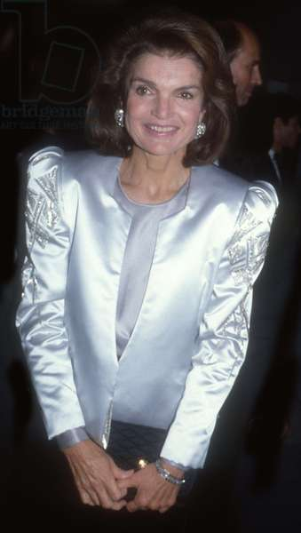 Jackie Onassis, 1980s (photo)