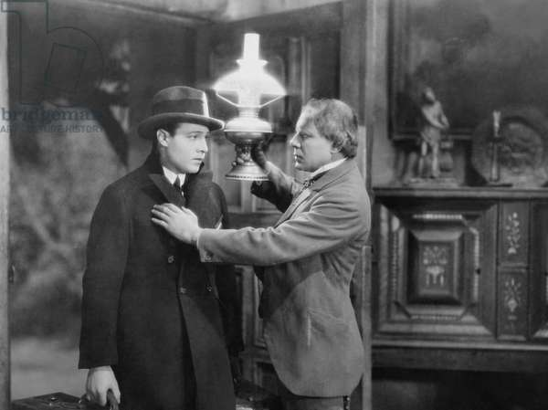 THE CONQUERING POWER, from left: Rudolph Valentino, Ralph Lewis, 1921