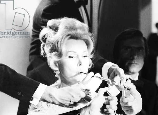 ARRIVEDERCI, BABY!, (aka DROP DEAD DARLING), Zsa Zsa Gabor, 1966