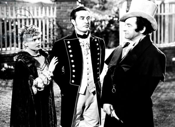 FOREVER AND A DAY, from left, Anna Neagle, Ray Milland, Claude Rains, 1943