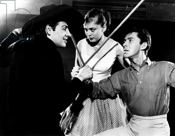 TRY TO REMEMBER: THE FANTASTICKS, Jerry Orbach, Rita Gardner, (original cast) (b/w photo)
