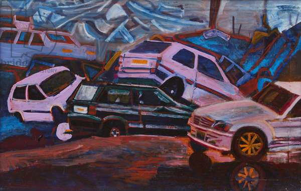 Dumped 3, 2006 (oil on canvas)