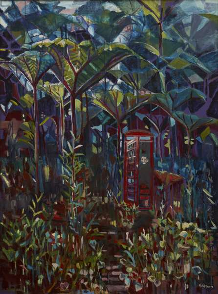In the Jungle, 1993 (oil on canvas)