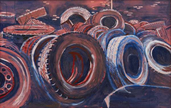 Tyred Out 1, 2006 (oil on canvas)