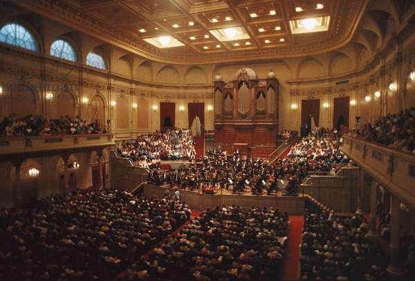Concertgebouw orchestra in Amsterdam