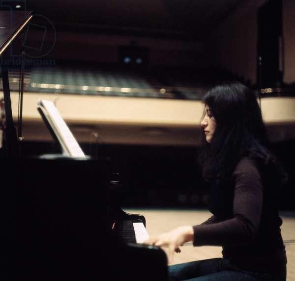 Young Martha Argerich -