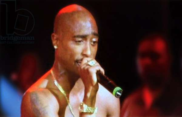 TUPAC: LIVE AT THE HOUSE OF BLUES, Tupac Shakur, 2005. ©Eagle Rock/courtesy Everett Collection