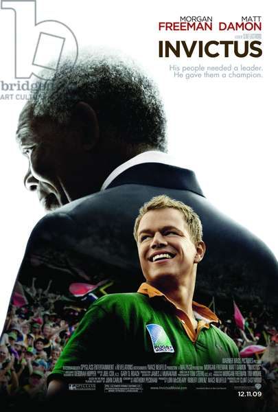 INVICTUS, from left: Morgan Freeman (as Nelson Mandela), Matt Damon, 2009. ©Warner Bros./courtesy Everett Collection
